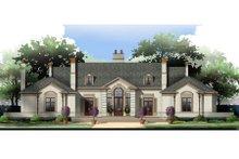House Design - European Exterior - Front Elevation Plan #119-106