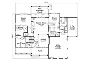Country Style House Plan - 5 Beds 4 Baths 4061 Sq/Ft Plan #419-306 Floor Plan - Main Floor Plan