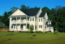 House Plan Design - Colonial Exterior - Front Elevation Plan #20-1104