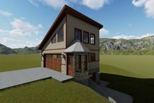Dream House Plan - Modern Exterior - Front Elevation Plan #1060-72