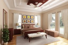 Architectural House Design - Farmhouse Interior - Master Bedroom Plan #888-1