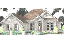 Home Plan - Traditional Exterior - Front Elevation Plan #20-114