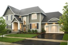 House Plan Design - Traditional Exterior - Other Elevation Plan #56-605