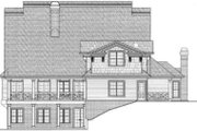 Colonial Style House Plan - 5 Beds 3.5 Baths 3401 Sq/Ft Plan #119-147 Exterior - Rear Elevation