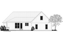 Farmhouse Exterior - Rear Elevation Plan #430-187
