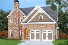 House Plan Design - Traditional Exterior - Front Elevation Plan #419-223