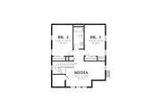 Cottage Style House Plan - 3 Beds 2.5 Baths 1915 Sq/Ft Plan #48-572 Floor Plan - Upper Floor