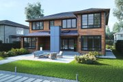 Modern Style House Plan - 5 Beds 4.5 Baths 3500 Sq/Ft Plan #1066-13 Exterior - Other Elevation