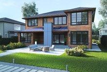Home Plan - Modern Exterior - Other Elevation Plan #1066-13