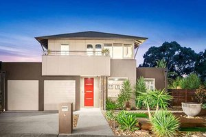 Modern style Home, front elevation
