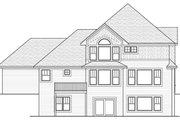 Farmhouse Style House Plan - 4 Beds 2.5 Baths 2637 Sq/Ft Plan #51-459 Exterior - Rear Elevation