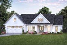 Dream House Plan - Farmhouse Exterior - Front Elevation Plan #1074-43