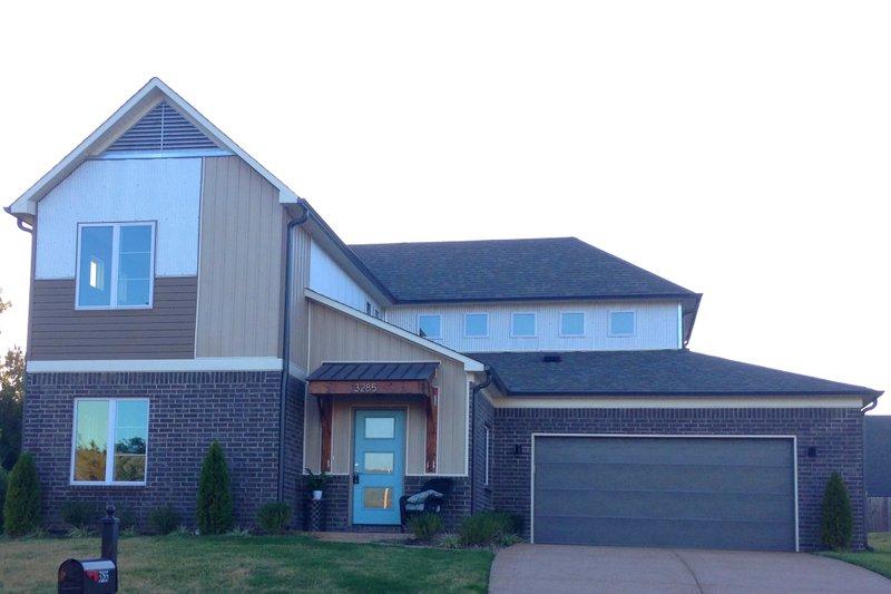 House Plan Design - Contemporary Exterior - Front Elevation Plan #932-172