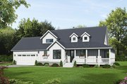 Country Style House Plan - 4 Beds 3.5 Baths 2123 Sq/Ft Plan #932-145 Exterior - Front Elevation