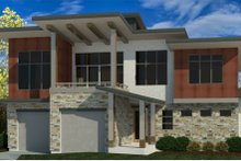 Home Plan - Modern Exterior - Front Elevation Plan #920-112