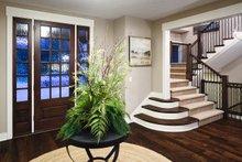 Craftsman Interior - Entry Plan #928-260