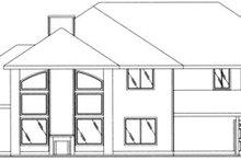 Traditional Exterior - Rear Elevation Plan #117-471