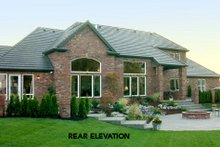 Home Plan - Southern Exterior - Other Elevation Plan #48-352