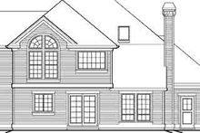 Dream House Plan - Farmhouse Exterior - Rear Elevation Plan #48-210