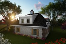 House Plan Design - Cottage Exterior - Rear Elevation Plan #70-1409