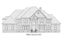 Traditional Exterior - Front Elevation Plan #1054-57