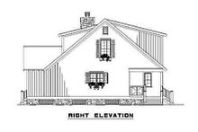 House Plan Design - Country Exterior - Other Elevation Plan #17-2017