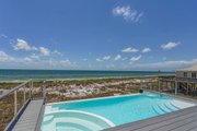 Beach Style House Plan - 4 Beds 3 Baths 2810 Sq/Ft Plan #901-114 Exterior - Outdoor Living