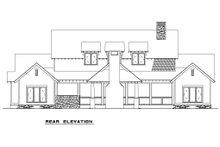 Craftsman Exterior - Rear Elevation Plan #17-2480