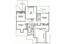 European Floor Plan - Upper Floor Plan Plan #137-153