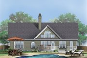 Traditional Style House Plan - 3 Beds 2 Baths 1542 Sq/Ft Plan #929-363 Exterior - Rear Elevation