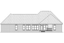 Dream House Plan - Southern Exterior - Rear Elevation Plan #21-230
