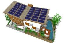 Modern Exterior - Other Elevation Plan #484-3