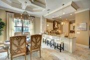 Mediterranean Style House Plan - 4 Beds 4 Baths 3012 Sq/Ft Plan #27-445 Interior - Dining Room