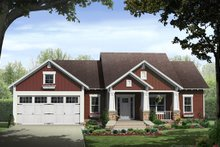 Home Plan - Traditional Exterior - Front Elevation Plan #21-334