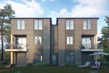 Contemporary Exterior - Rear Elevation Plan #1066-119