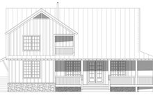Home Plan - Country Exterior - Rear Elevation Plan #932-311