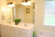 Traditional Style House Plan - 3 Beds 2 Baths 2000 Sq/Ft Plan #21-139 Interior - Master Bathroom