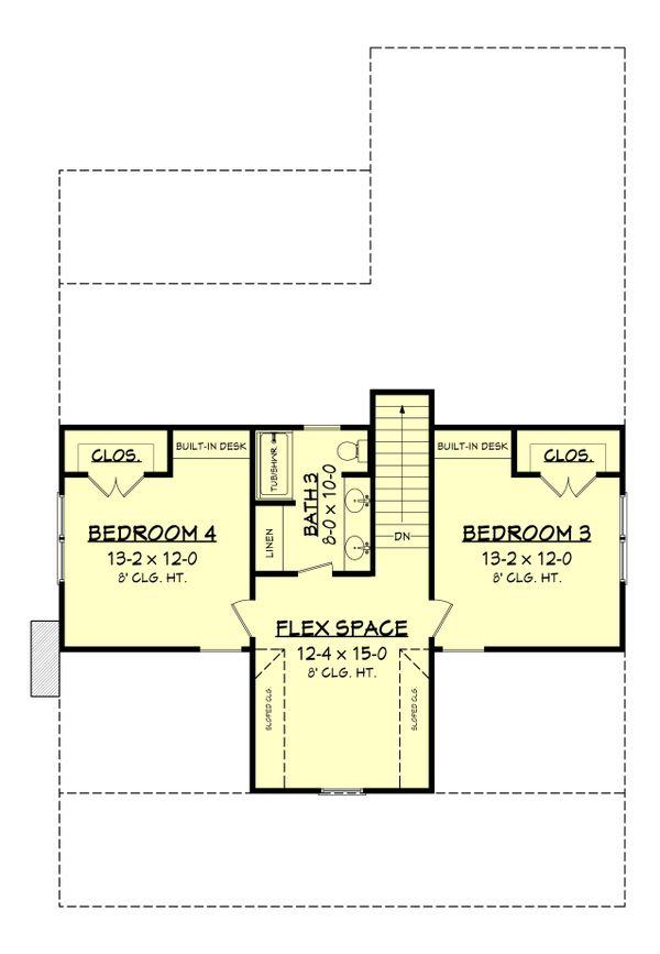 Farmhouse Floor Plan - Upper Floor Plan #430-198