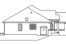 Ranch Exterior - Other Elevation Plan #124-487