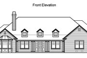 Traditional Style House Plan - 5 Beds 4.5 Baths 3536 Sq/Ft Plan #490-11 Exterior - Other Elevation