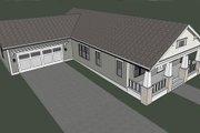 Craftsman Style House Plan - 3 Beds 2 Baths 1563 Sq/Ft Plan #461-13 Photo