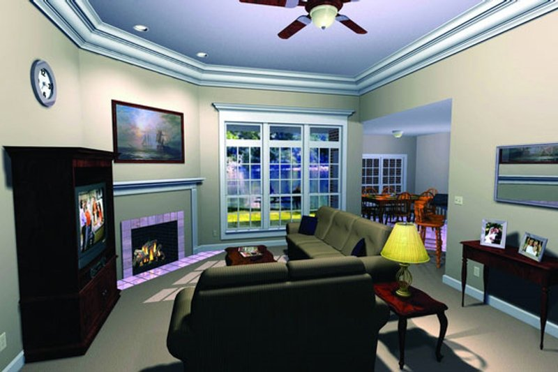 Southern Photo Plan #21-102 - Houseplans.com