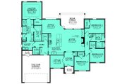 European Style House Plan - 4 Beds 2.5 Baths 2380 Sq/Ft Plan #430-129