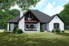 House Plan Design - European Exterior - Rear Elevation Plan #923-139