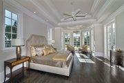 Mediterranean Style House Plan - 5 Beds 5.5 Baths 8001 Sq/Ft Plan #548-5 Interior - Master Bedroom