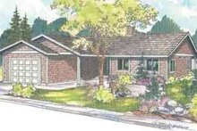 Home Plan - Traditional Exterior - Front Elevation Plan #124-493