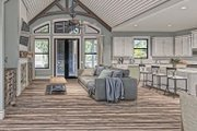 Craftsman Style House Plan - 3 Beds 2 Baths 2096 Sq/Ft Plan #437-101 Interior - Family Room