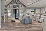 Craftsman Style House Plan - 3 Beds 2 Baths 2096 Sq/Ft Plan #437-101