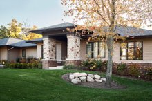 Dream House Plan - Prairie Exterior - Front Elevation Plan #928-279