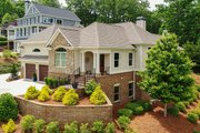Ranch Style House Plan - 3 Beds 3.5 Baths 2350 Sq/Ft Plan #437-89 Exterior - Other Elevation
